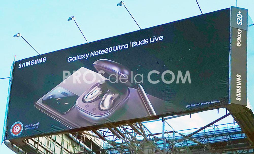 Campagne Samsung Note 20 - Septembre 2020