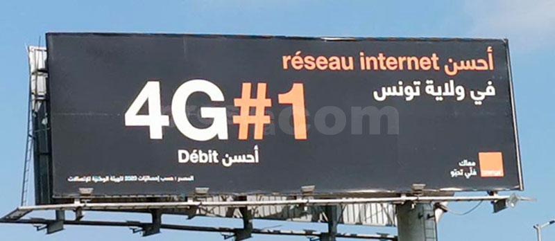Campagne Orange 4G - Mars 2020