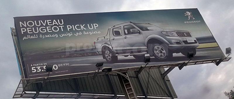 Campagne Peugeot Pickup Octobre 2018