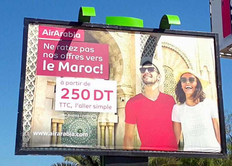Campagne AirArabia - Mai 2019