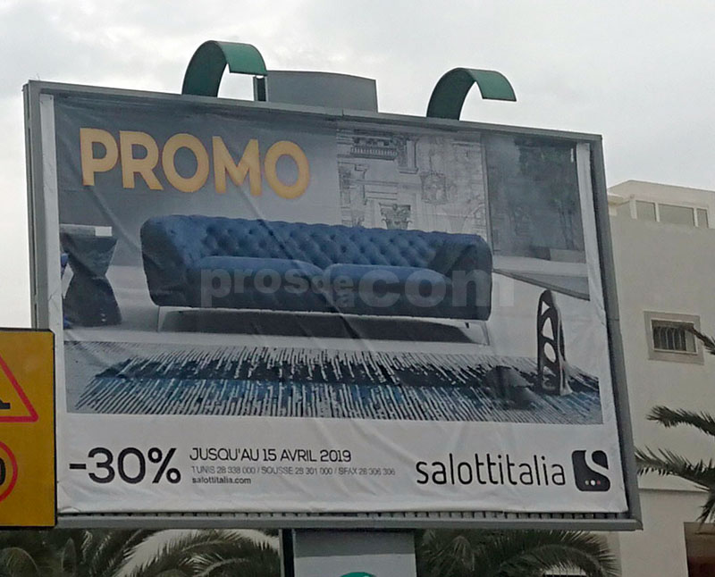 Campagne Salottitalia - Avril 2019