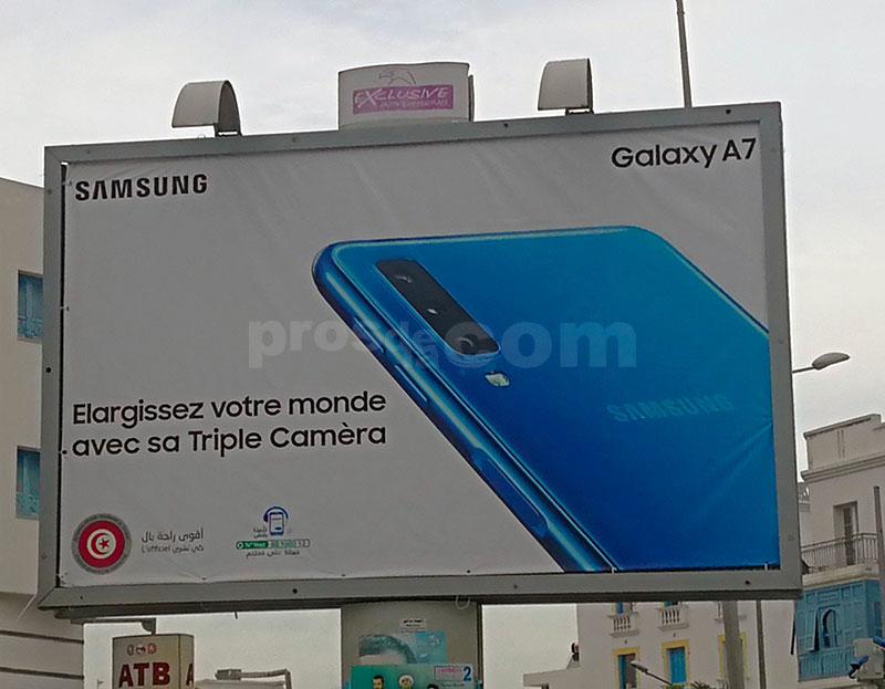 Campagne Samsung Galaxy Décembre 2018