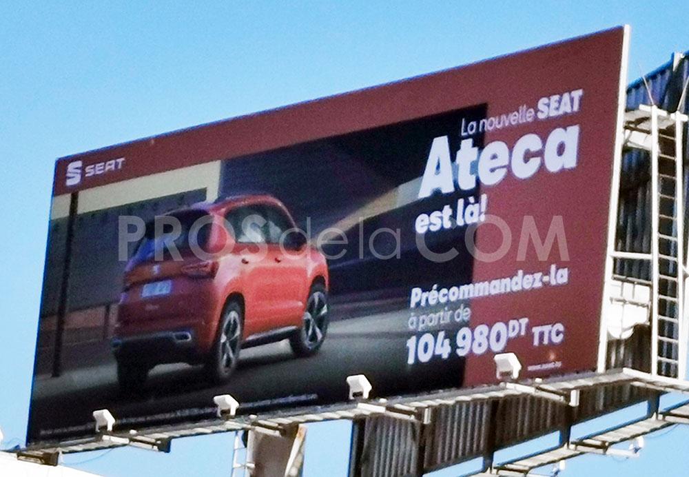 Campagne Seat Ateca - Novembre 2020