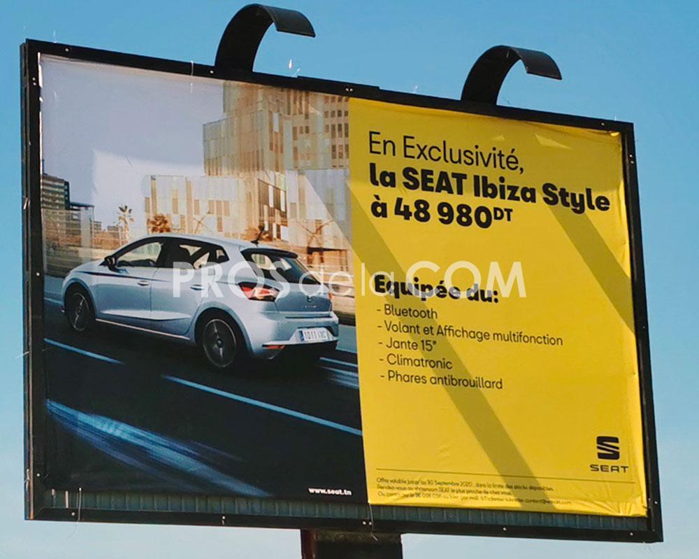 Campagne Seat Ibiza - Septembre 2020