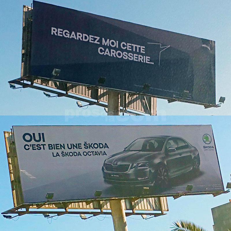 Campagne Skoda  Décembre 2018