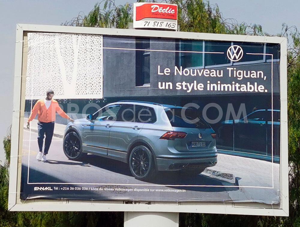 Campagne Tiguan - Juin  2021