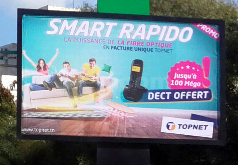 Campagne Topnet Smart Rapido  - Janvier 2019