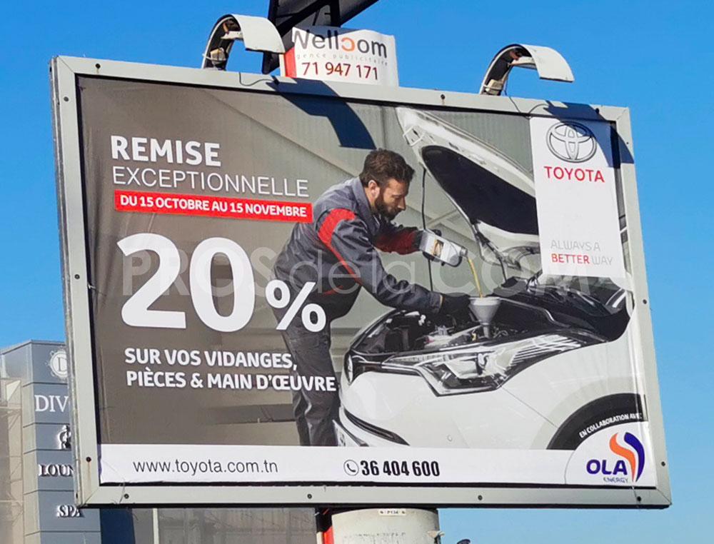 Campagne Toyota - Novembre 2020