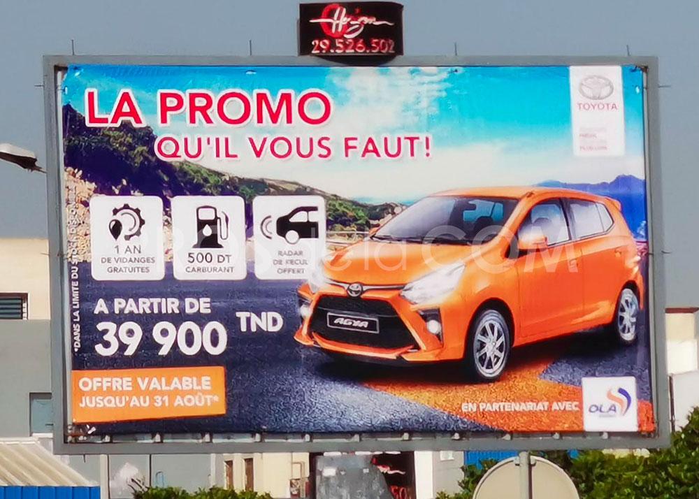 Campagne Toyota - Août 2021