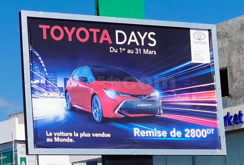 Campagne Toyota Days- Mars 2020
