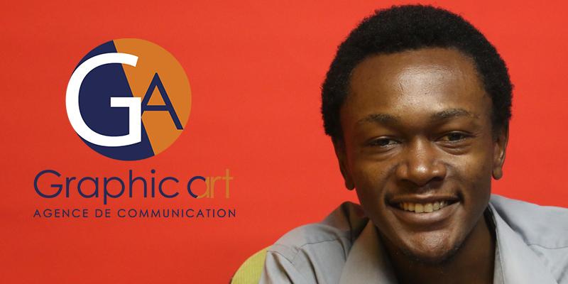 Interview de Anis Zowe Nganyade CEO de Graphic Art Agency