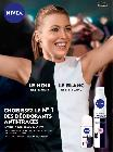 NIVEA : déodorants anti-traces
